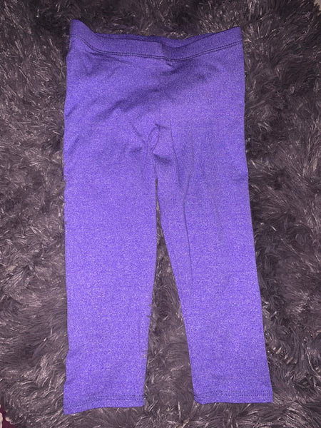 Toddler purple leggings