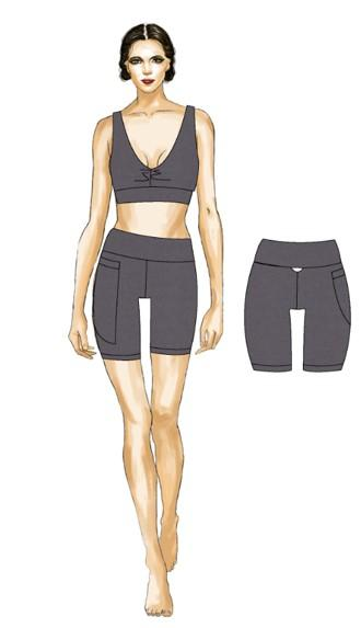 alchemiACTIVIST Women Bike Short