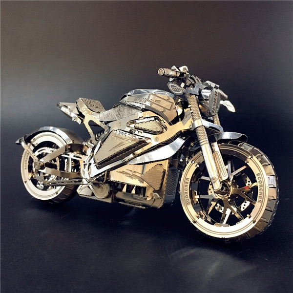 3D Metal Motorcycle Puzzle