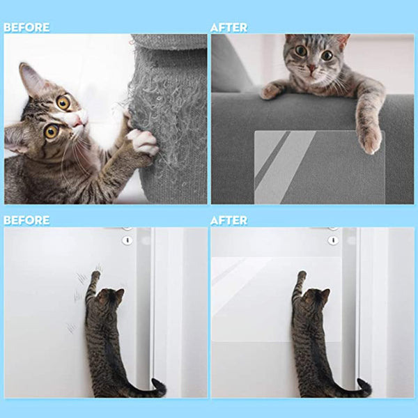 3PCS Pet Cat Scratch Deterrent Tape