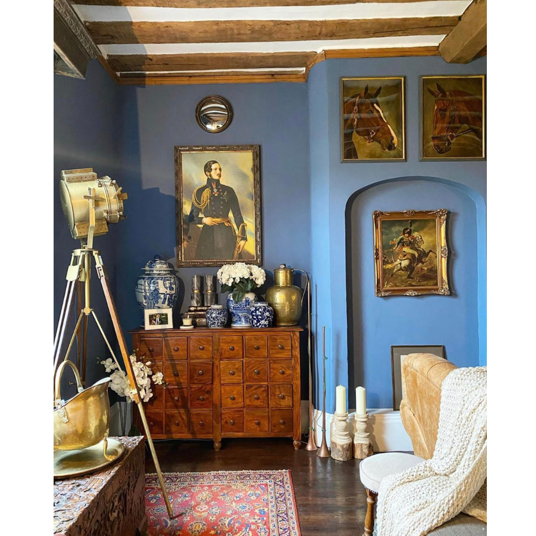 Ambrice's extensive art collection