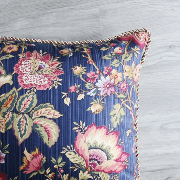Vintage Throw Cushions (Pair)