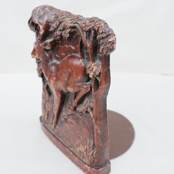Vintage Stag Bookend