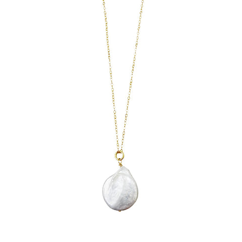 Jane Pearl Drop Necklace
