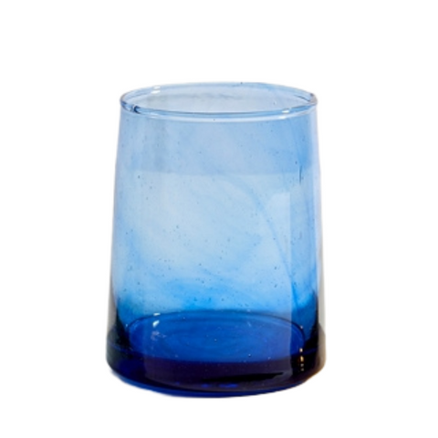 Moroccan Small Glass - Blue (Set of 6)