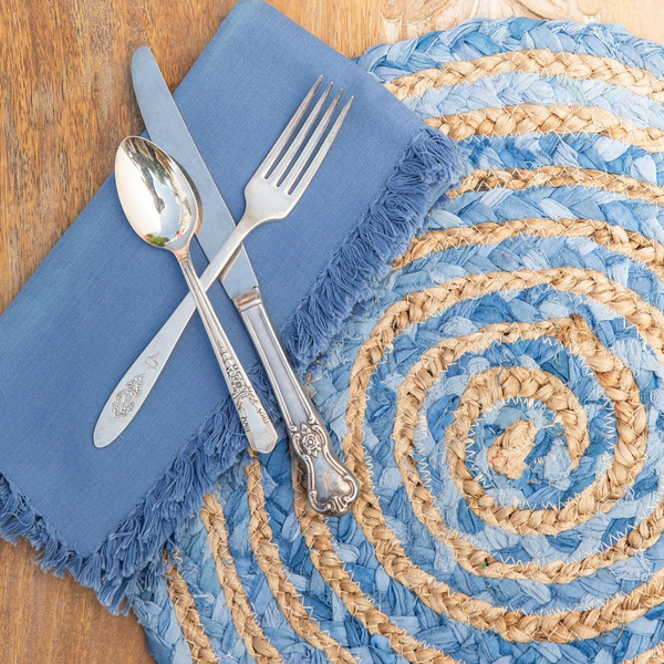 April Cornell Braided Placemat - Set of 4