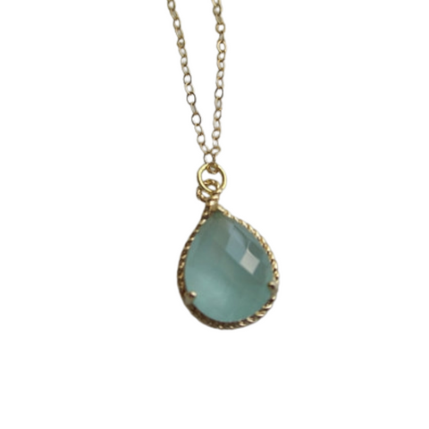 Mint Pendant Necklace (Gold)