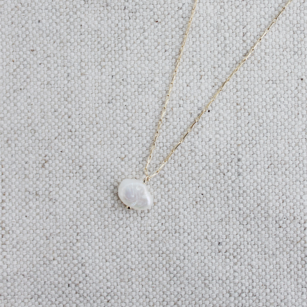 Small Fresh Water Pearl Necklace