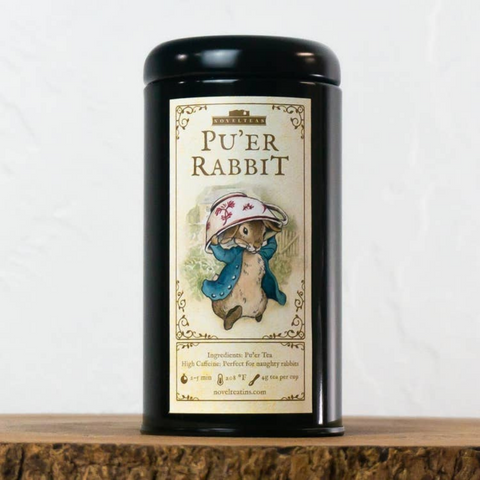 Pu'er Rabbit - Loose Tea Tin