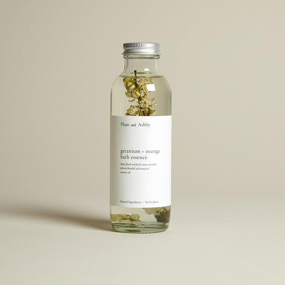 Geranium & Orange Bath Essence