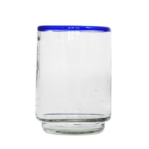 Blue Rim Stacking Glass (Set of 4)
