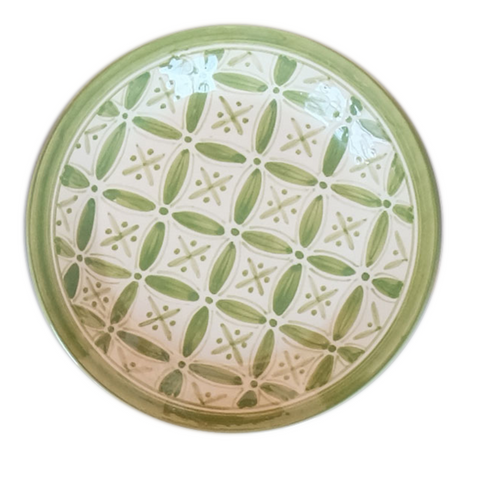 Moroccan Green Side Plate (Set of 4)