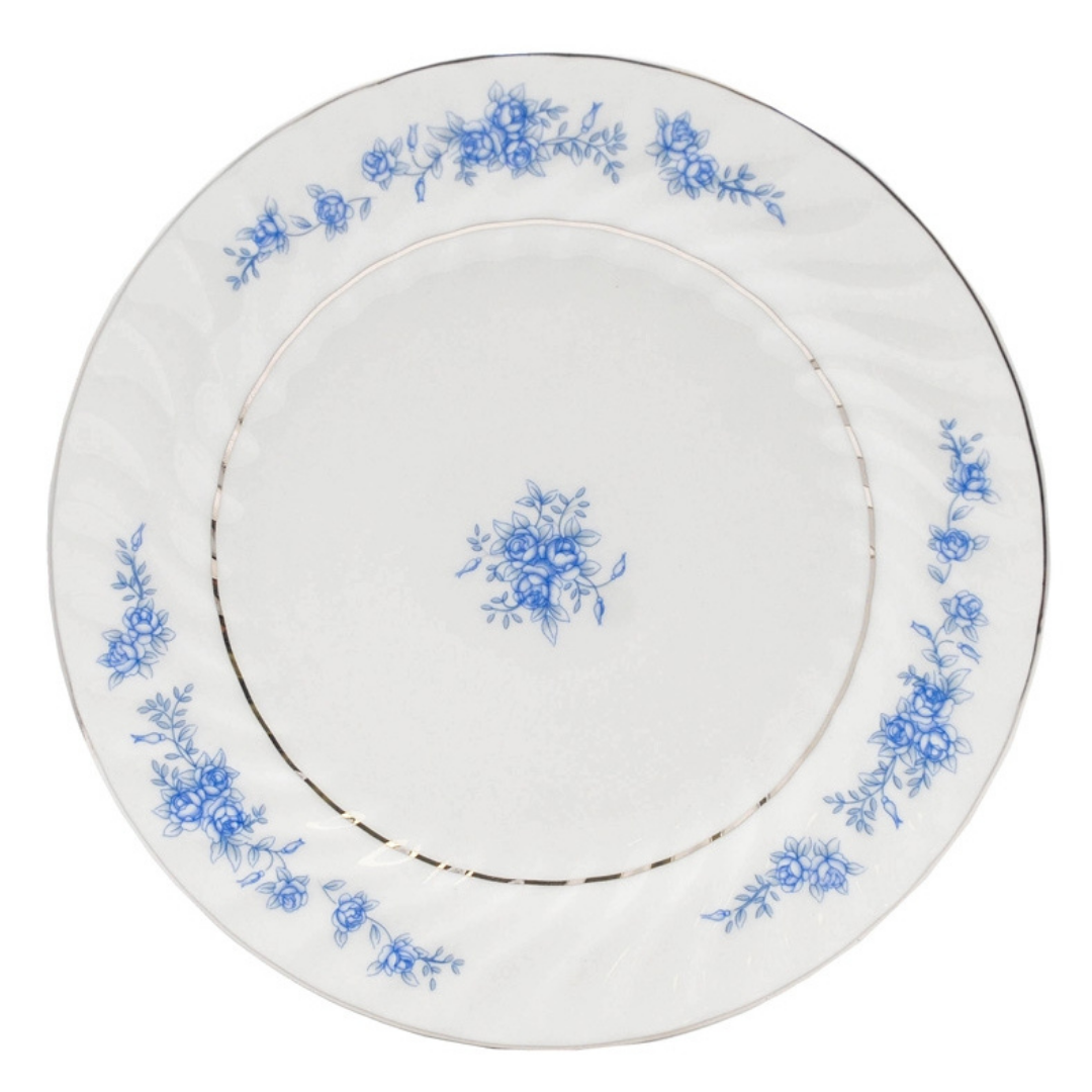 Royal Rose Dinner Plate