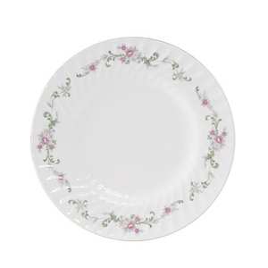Pink Bloom Salad Plate