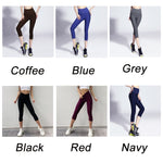 Load image into Gallery viewer, Women Fitness Gym Tights / Elastic 3/4 Pants