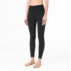 Middle Waist Yoga Legging - Full Length / Hidden Waistband Pocket