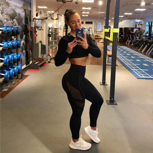 Women Gym Suit  2 Piece Suit