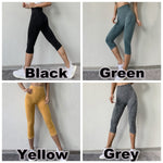 Load image into Gallery viewer, Tights Woman Sports Fitness Yoga Pants / Workout Gym Legging / Capris 3/4 Pants