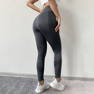 Seamless Leggings / High Waist / Push Up Sport Workout Gym Wear