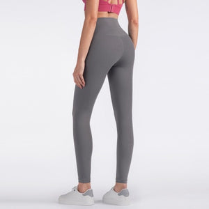 High Waist Yoga Legging - Elastic waist