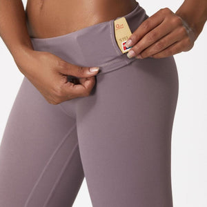 High Waist Yoga Legging - w/ Hidden Waistband Pocket