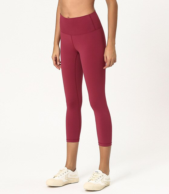 High Waist Yoga Legging - Seamless / Calf-Length