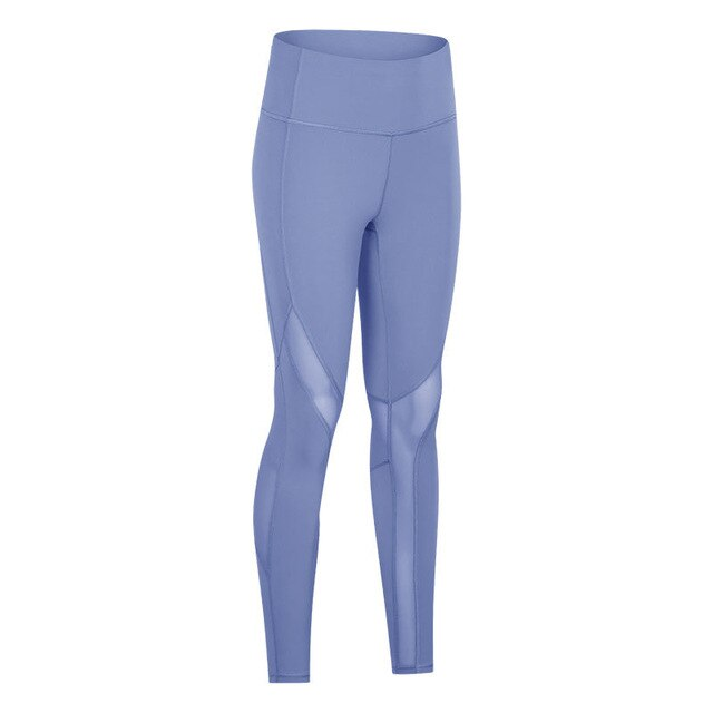 High Waist Yoga Legging - Mesh Breathable / Tight Fitness