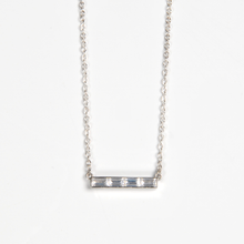 Load image into Gallery viewer, Baguette Bar Necklace