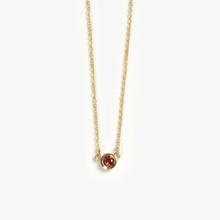 Load image into Gallery viewer, Round Bezel Necklace