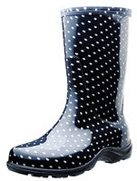 Slogger Boots in Polka Dot