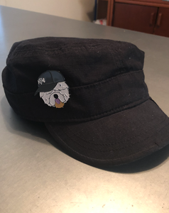 Protect and Serve - Enamel Sheep Dog Pin with Backing