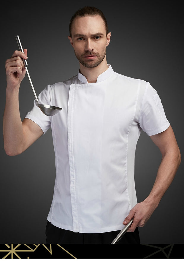 Breathable Short Sleeve Chef Jacket - gadgets4chef