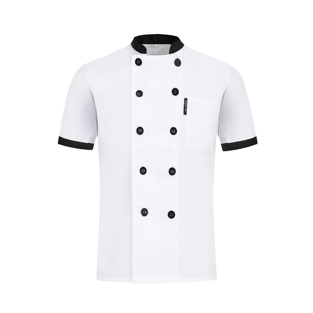 Breathable Double Breasted Chef Jacket - gadgets4chef