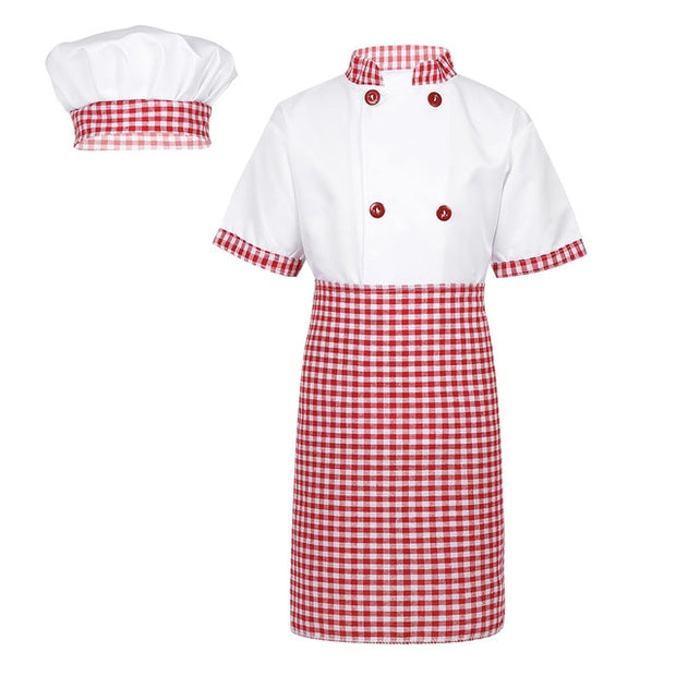 Children Unisex Chef Uniform Set - gadgets4chef