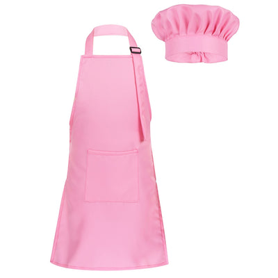Kids Adjustable Apron and Chef Hat Set - gadgets4chef