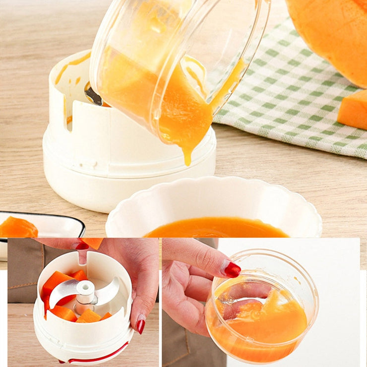 Mini Stainless Vegetable Chopper - gadgets4chef