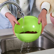 Portable Plastic Strainer - gadgets4chef