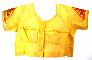 Gold Saree Blouse / Top  Size 34