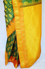 Green Colour Kanchipuram Pattu  Silk Saree