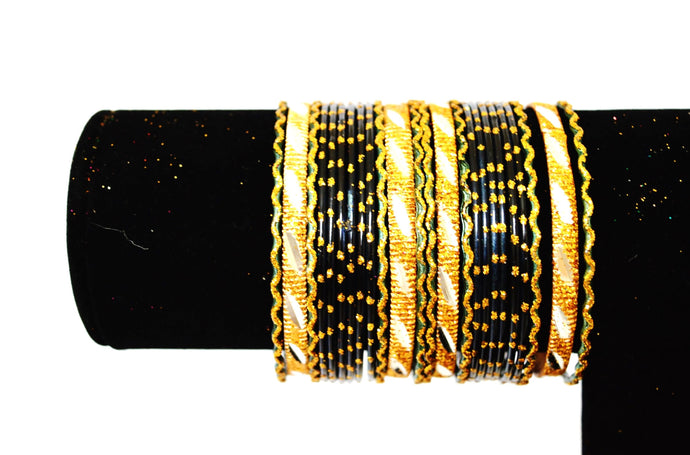 Set Of 24 Indian Bollywood Jewellery Bangles