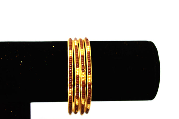 Set Of 4 Indian Bollywood Jewelry Bangles