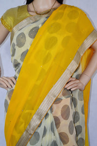 Exclusive Fancy Saree With Silk Blouse Piece