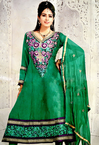 Indian Pakistani Salwar Kameez Suit Designer Dress!