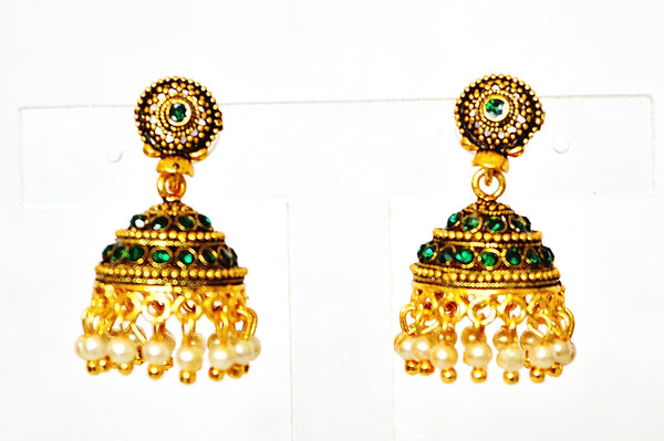 New Bollywood Indian Costume Jewellery Earrings