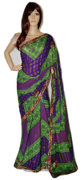 Indian Beautiful  Designer Tissue Silk  Saree