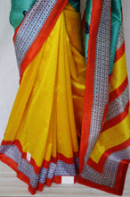 Gorgeous Lichi 3 Star Cotton Mix Silk Saree