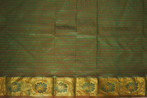 Green Colour  Kanchipuram  Silk Saree