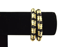 Set Of 2 Indian Bollywood Jewelry Bangles