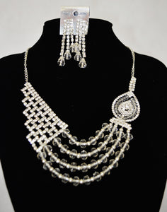 Beautiful Silver Jewellery Set