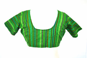 Green Colour Saree Blouse / Top Size 36